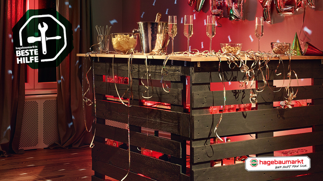 Mobile Partybar Selber Bauen Do It Yourselfie Hagebau De
