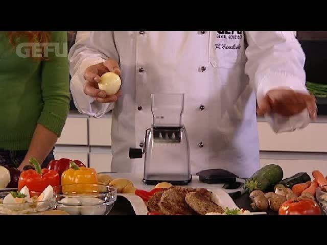 GEFU Würfel- und Zwiebelschneider Cubico Video 4