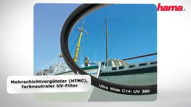 Hama - UV-Filter 390 (O-Haze) Video 3
