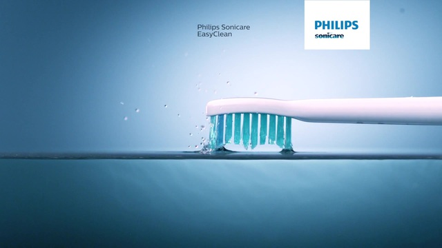 Philips Sonicare EasyClean Sonicare EasyClean Wiederaufladbare Schallzahnbürste HX6510/22 1Stufe 1Bürstenkopf Video 3