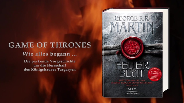 George R. R. Martin: Feuer und Blut - Erstes Buch Video 3