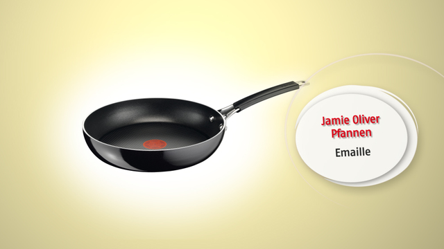 Tefal – Jamie Oliver Emaille Pfannen Video 6