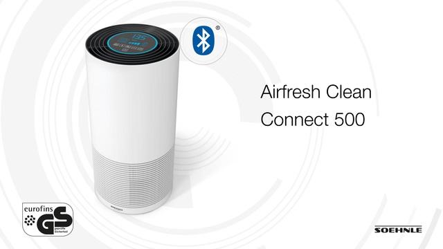 Soehnle - Airfresh Clean Connect 500 Video 2