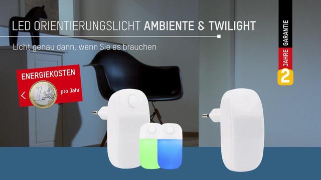 Ansmann - LED-Orientierungslicht Ambiente & Twilight Video 2