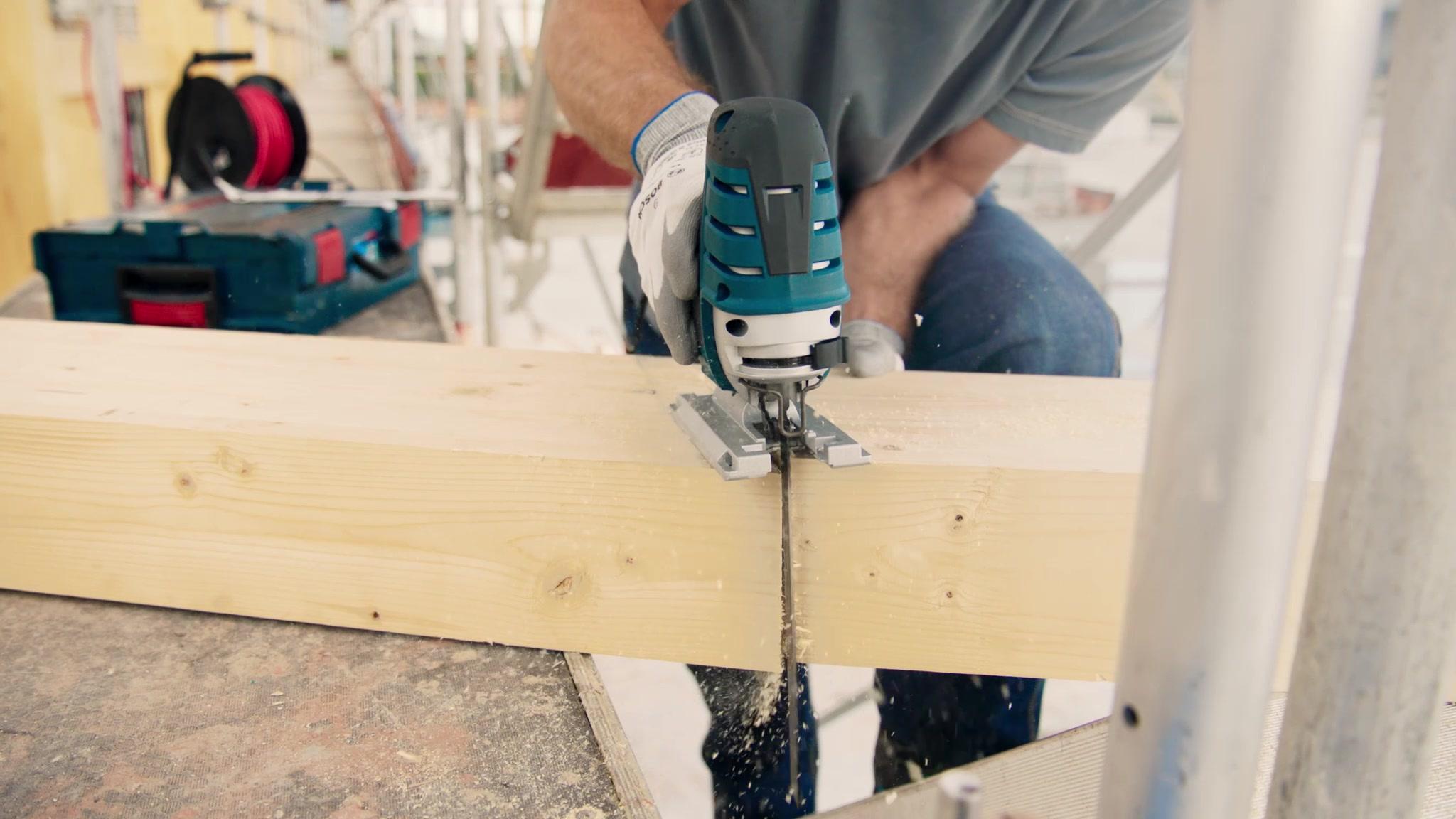Bosch Professional 3-tlg Progressor for Wood and Metal Stichsägeblatt-Sets