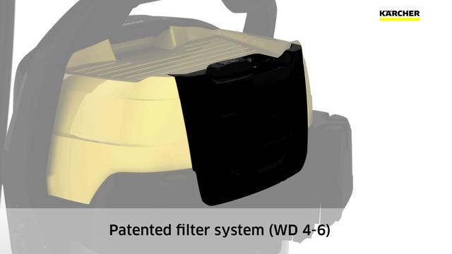 Multi-purpose vacuum cleaners - WD Range (new) Video 3